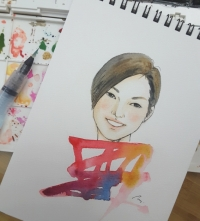 water color portrait 09