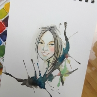 water color portrait 11