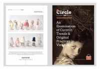 Circle Quarterly Art Review Magazine - Issue 4 feature artist